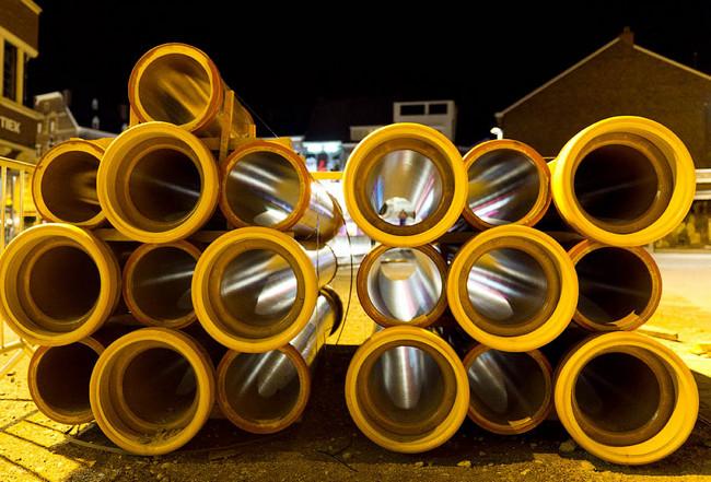 Керамические трубы большого диаметра для канализации