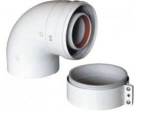 Муфта для коаксиальной трубы газового котла