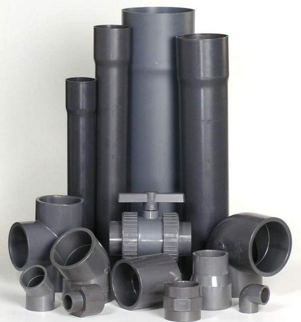 Водопроводные трубы и фитинги из пвх