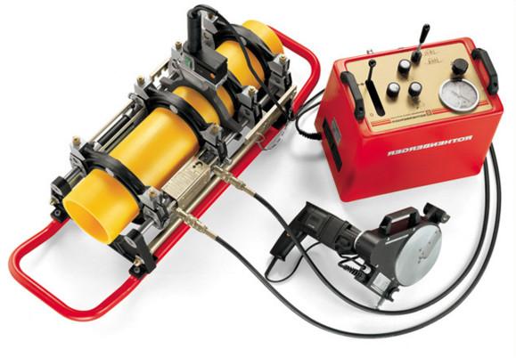 Механический паяльник для сварки пропиленовых труб