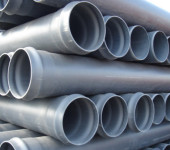 Канализационные трубы ПВХ для напорных стоков