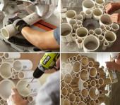 Изделия из пластиковых труб