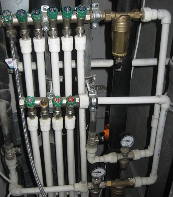 Коллектор для водоснабжения своими руками 811