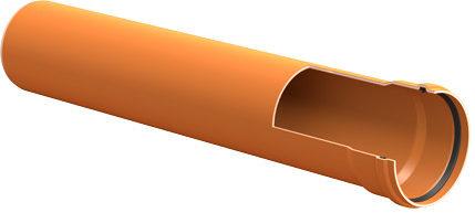 Труба ПВХ в разрезе
