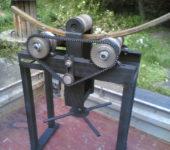 Самодельный станок для сгибания профильной трубы