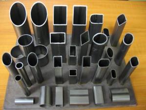 фасонное сечение алюминиевой трубы