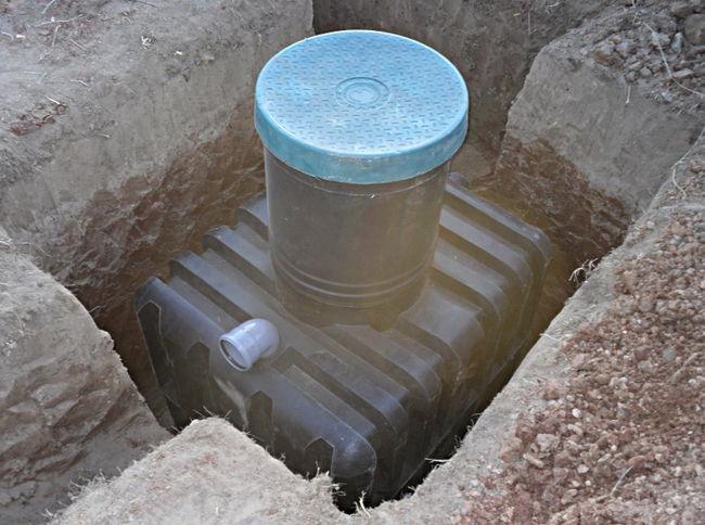 Септик в яме