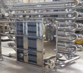 Трубы из нержавейки для подачи воды на производстве