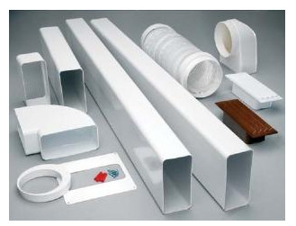 Пластиковые воздуховоды для вентиляции