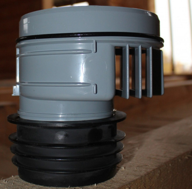 Вакуумный клапан для фановых труб