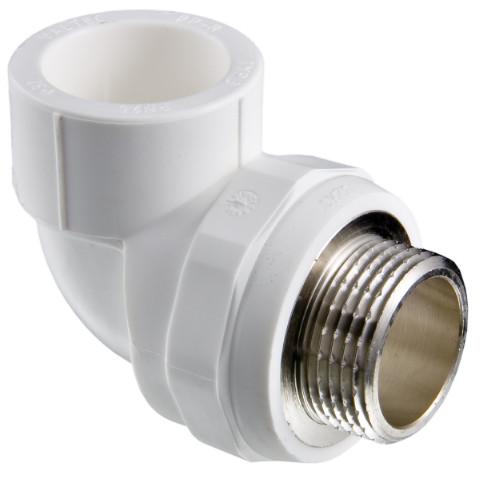 Комбинированный фитинг для полипропиленовых труб