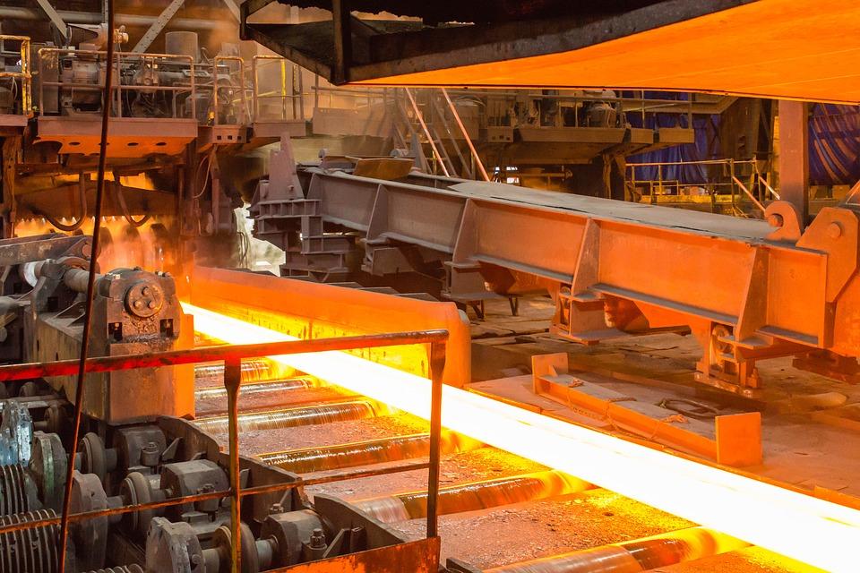 Процесс производства горячего проката