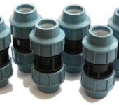 Фитинги для соединения полиэтиленовых труб без резьбы и сварки